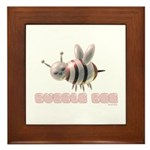 Bubble Bee Framed Tile