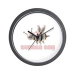 Bubble Bee Wall Clock