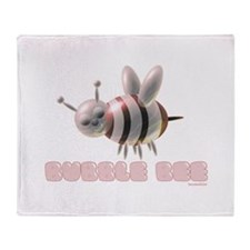Bubble Bee Throw Blanket