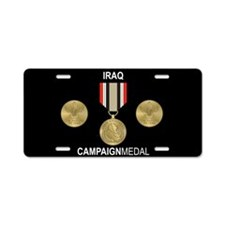 Iraq Campaign Medal License Plate