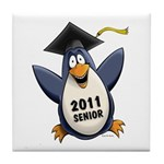 Class of 2011 Penguin Tile Coaster