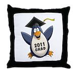 Class of 2011 Penguin Throw Pillow