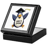 Class of 2011 Penguin Keepsake Box