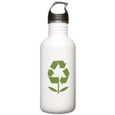 Recycle Flower Water Bottle