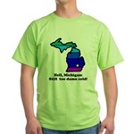 Say Yes To Michigan and The M Green T-Shirt