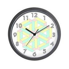 <b>CHILDREN'S SERIES: </b>Pastel Wall Clock
