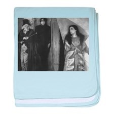 The Cabinet of Dr. Caligari baby blanket
