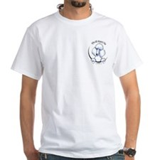 White Std Poodle IAAM Pocket Shirt