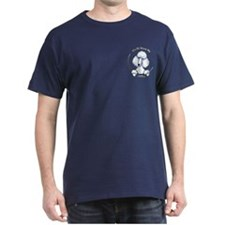 White Std Poodle IAAM Pocket T-Shirt