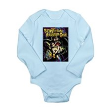 Beast From Haunted Cave Long Sleeve Infant Bodysui