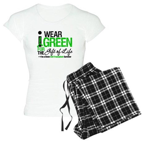 I Wear Green SCT Survivor Women's Light Pajamas