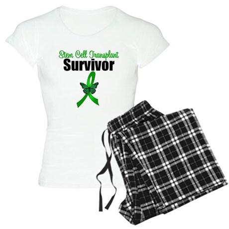 SCT Survivor Ribbon Women's Light Pajamas
