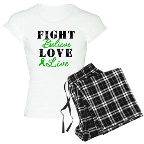 SCT Warrior Fight Women's Light Pajamas