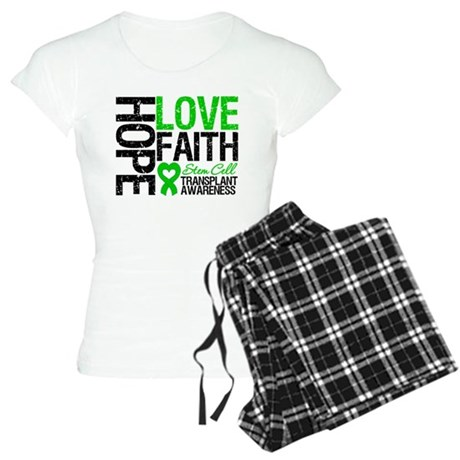 SCT Hope Love Faith Women's Light Pajamas