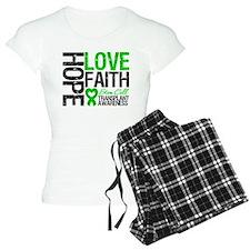 SCT Hope Love Faith pajamas