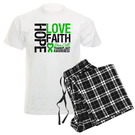 SCT Hope Love Faith Men's Light Pajamas