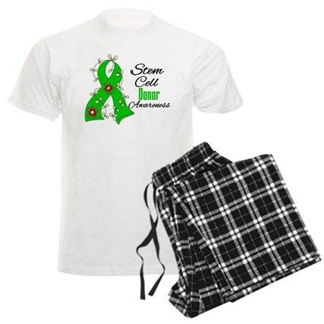 Stem Cell Donor Awareness Men's Light Pajamas