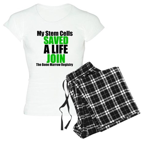 My Stem Cells Saved a Life Women's Light Pajamas