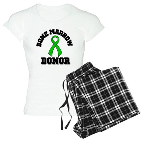 Bone Marrow Donor Ribbon Women's Light Pajamas