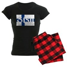 Finnish Sisu (Finnish Flag) Pajamas