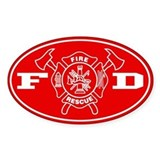 Fire Department - Stickers