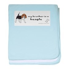 beagle gifts baby blanket