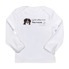 bernese mountain dog gifts Long Sleeve Infant T-Sh