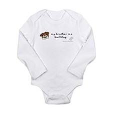 bulldog gifts Long Sleeve Infant Bodysuit