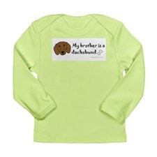 dachshund gifts Long Sleeve Infant T-Shirt