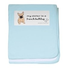 french bulldog gifts baby blanket