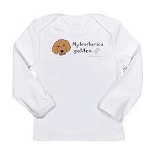 golden retriever gifts Long Sleeve Infant T-Shirt