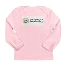 labradoodle gifts Long Sleeve Infant T-Shirt