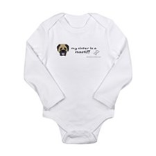 mastiff gifts Long Sleeve Infant Bodysuit