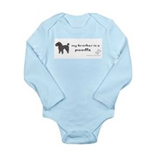 poodle gifts Long Sleeve Infant Bodysuit