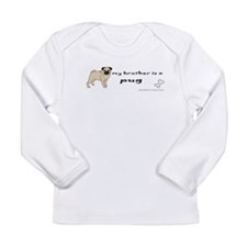 pug gifts Long Sleeve Infant T-Shirt