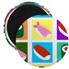 Sushi Pop Art Magnet