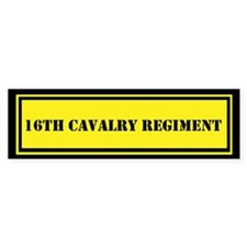 16th Cavalry Regiment Bumper Sticker