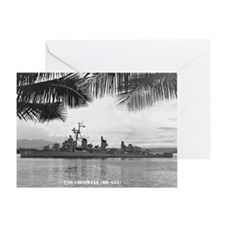 USS COGSWELL Greeting Card