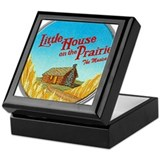 House on Prairie Ingalls Keepsake Box