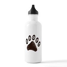 Animal Adoption Paw Water Bottle