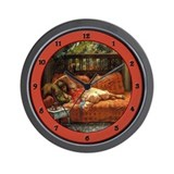 Unique Orientalist art Wall Clock