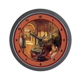 Unique Orientalist Wall Clock
