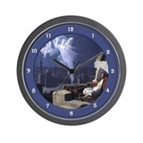 Cute Orientalist Wall Clock