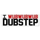 I WubWubWub Dubstep Car Sticker
