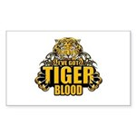 I've Got Tiger Blood Sticker (Rectangle)