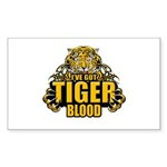 I've Got Tiger Blood Sticker (Rectangle 10 pk)