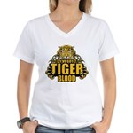 I've Got Tiger Blood Women's V-Neck T-Shirt