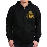 I've Got Tiger Blood Zip Hoodie (dark)