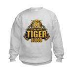 I've Got Tiger Blood Kids Sweatshirt