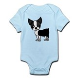 Cool Boston terrier Onesie